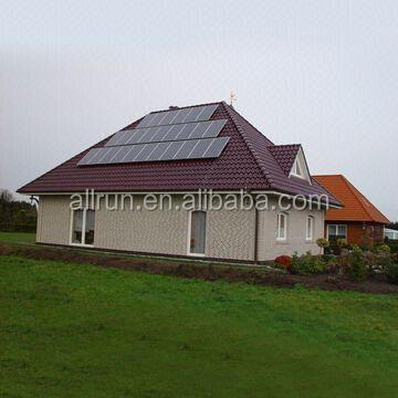 HIGH EFFICIENCY HOME USING 2KW SOLAR SYSTEM POWER