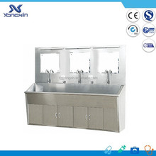 XS-3 Stainless Steel Hospital Knee Operated Hand Washing Sink