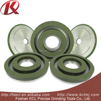 Abrasive diamond vitrified and resin bond grinding wheels