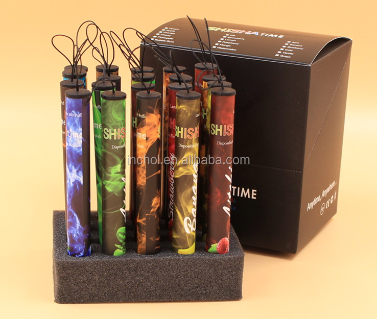2018 dongguan high quality many different flavors disposable hookah pen wholesale electronic cigarette
