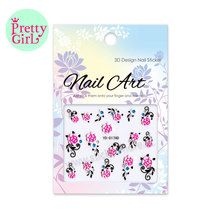 Beautiful Nail Art Decoration Nail Sticker With Different PatternsYD-017AD