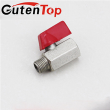 1/4 ,3/8 , 1/2 inch npt thread chrome plated cheap small mini brass ball valve for oil