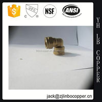 Mechanical parts brass union elbow