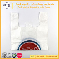 Wholesale firm resealable plastic food bags with handle