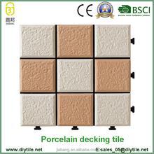 new model villas porcelain tile interlocking floor tiles