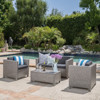 Outdoor Wicker Patio Set Garden Lawn