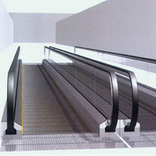 Out door indoor airport moving walkway sidewalk walks