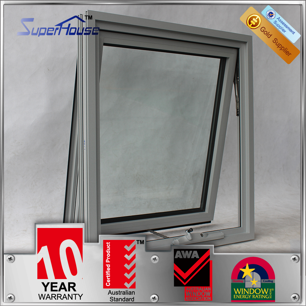 Australia AS2047 standard 10years warranty commercial double glazing sliding window track system with security lock