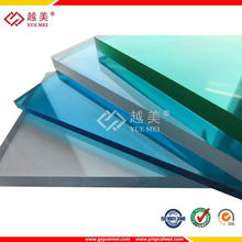 Yuemei ten years warranty polycarbonate solid sheet for sound insulation