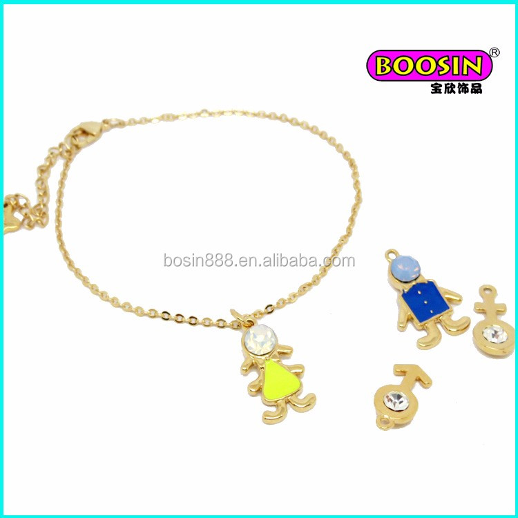 The Most Popular boy and girl pendant necklace dubai
