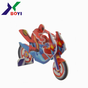 Kids mini motorcycle,super 3d puzzle car