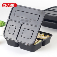 disposable plastic take away lunch box/food container