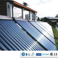 CPC concentrated Pressured solar supper heat pipe collector