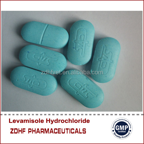 Veterinary Medicine Levamisole Hydrochloride Tablet for animal antibiotics sale