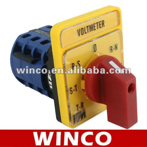 Voltmeter Selector Switch BE-3A BE-3V