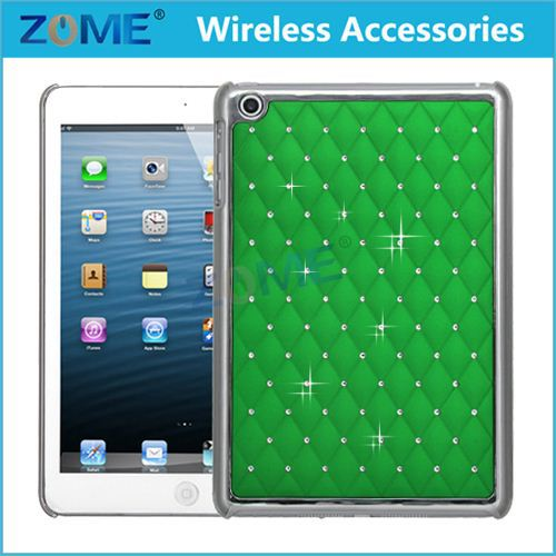 Bulk Buy From China Phone Case Dual Layer Hybrid Shockproof Gel Rhinestone Bling Armor Defender Case/Cover For iPad