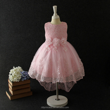 summer hot selling party dress for 2-12 years old girls sequines pink white wedding dress