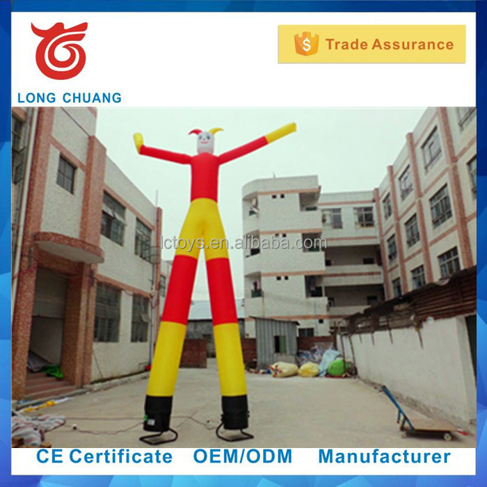custom made lovely inflatable dancing man with two legs for advertising