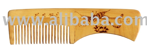 Boxwood Artistic Hair Brush Combs For Daily Use Series Hairbrush Yg050