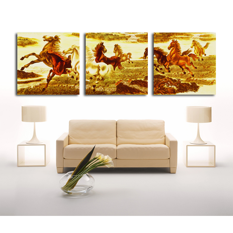 Buy modern art abstract zebra oil painting for home decorative