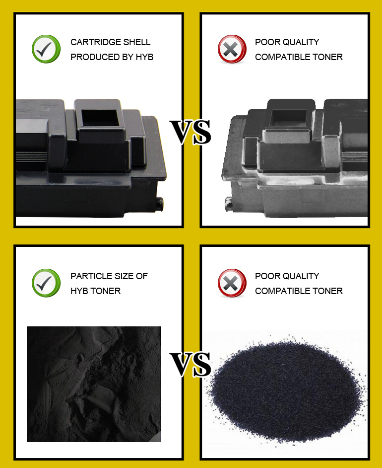 Compatible TK-895 color toner cartridge for use in FS-8025/8030MFP
