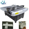 Box cnc cutting machine with V cutter for any angles of V grooves