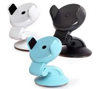 hot sale sticky suction cup easy one touch car dashboard windshield phone stand holder for all mobile cell phones