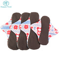 Bamboo Reusable Washable Female Menstrual Pad Cloth Sanitary napkin