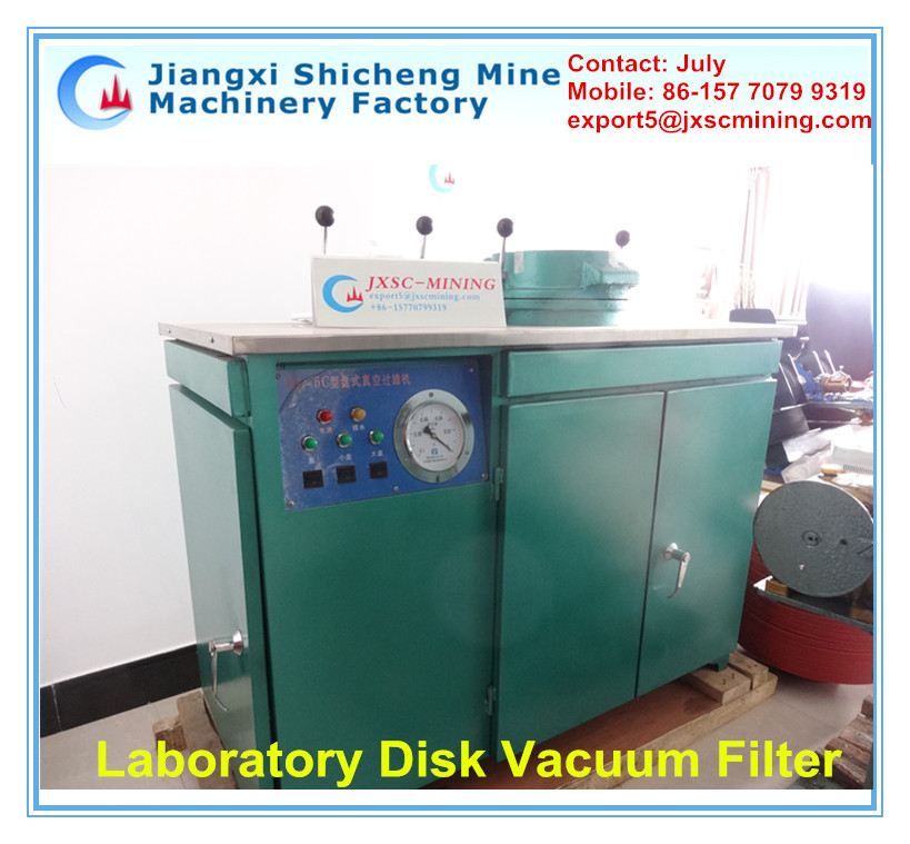 High filtration Efficiency Vacuum-driven Filter,Lab Disk Filter for Mineral Processing
