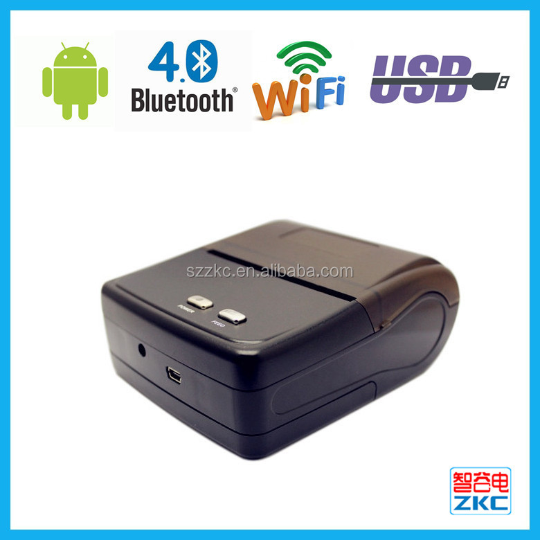 Hot sale handheld terminal with printer 80mm bluetooth thermal printer for Android system