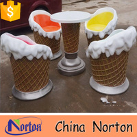 outdoor decorative ice cream resin figures for home decoration NTRS516S