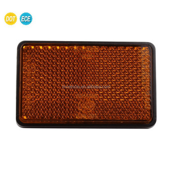 Hot Selling White/Amber/Red Retro-reflector for Motorcycles