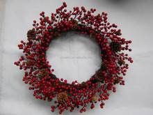 2016 Popular Battery operated christmas wreaths