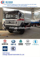 hot sale beibenz water tanker,15 m3~20 m3 5 ton water tank truck