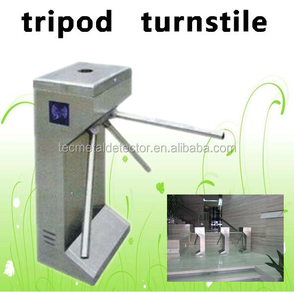 Factory/Subway/Supermarket Tripod Turnstile Barrier TEC-F215B