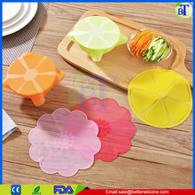 High Quality Reusable cling film for food wrap silicone flower wrap
