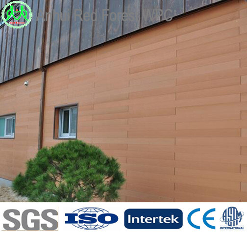 Waterproof Exterior Wall Siding Panel Solid Wood Wall