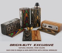 With Vivid Colors Ornamental GROOT VPARK Wax Vape V5 Originality Stab Vapor 80W Wood Box Mod Limited Edition!!