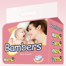 Hot sex free sample disposable breathable baby diaper in bales manufacture in china