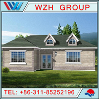 Fast installing made in China modern low cost modern prefab villa for sale