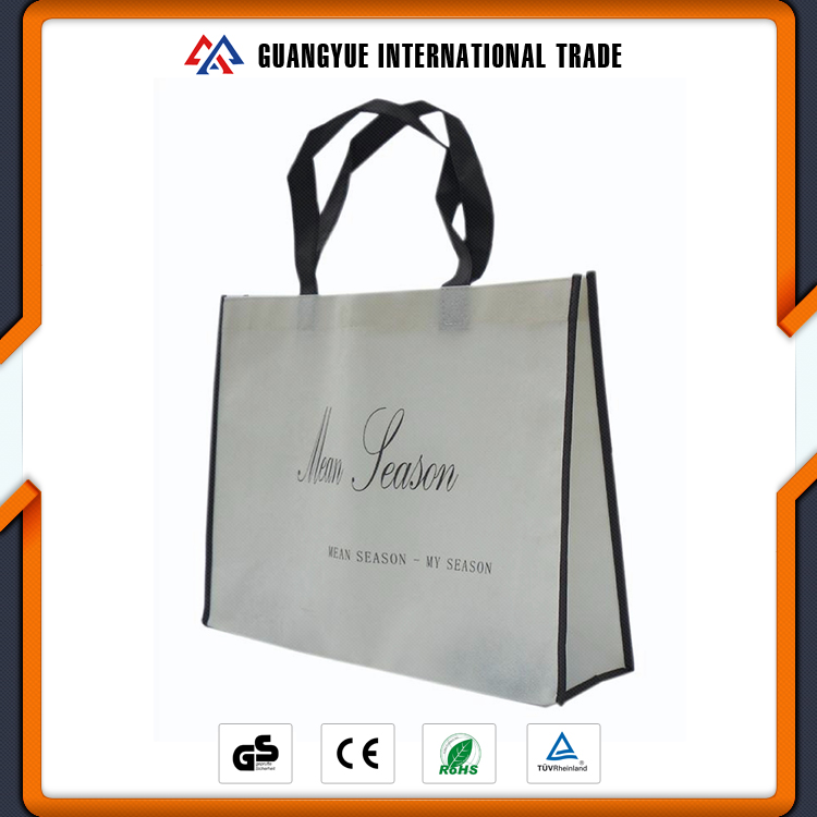 Guangyue Quality Products Pictures Printing Non Woven Durable Plastic Shopping Bag Custom