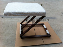 Manufacturer for 3-Way Folding Wooden Footrest Adjustable Foot Stool