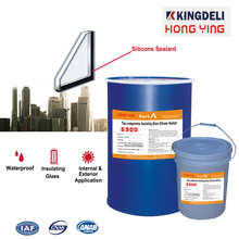 Two component insulating glass silicone sealant