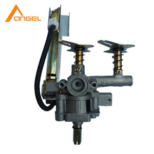 China New Style Cheap Popular Single Burner Stainless Steel Gas Cast Iron Stove Burner Parts