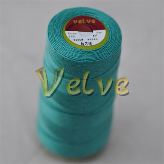 quality 100 pct poly core spun thread 32 2 cotton polyestery thread for sofa mattress knitting