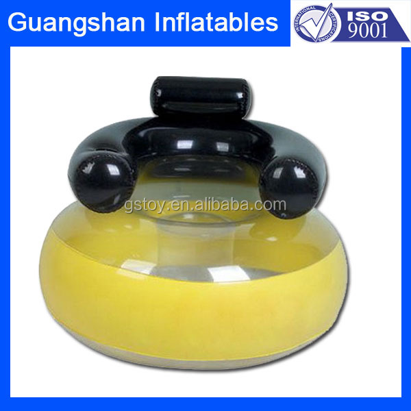 PVC children folding inflatable water sofa chair