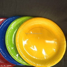 9 inch Custom Printed Disposable Wholesale Paper Plates