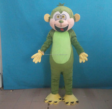 adult halloween mascot monkey costume foam head monkey costume