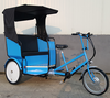 Hot selling Pedal Assist Battery Powered Electric Cycle Auto Rickshaw