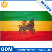 Made In China Good Quality Custom Large Lion Flag